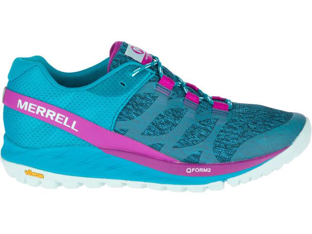 Merrell Antora Buty do biegania Kobiety różowy/turkusowy